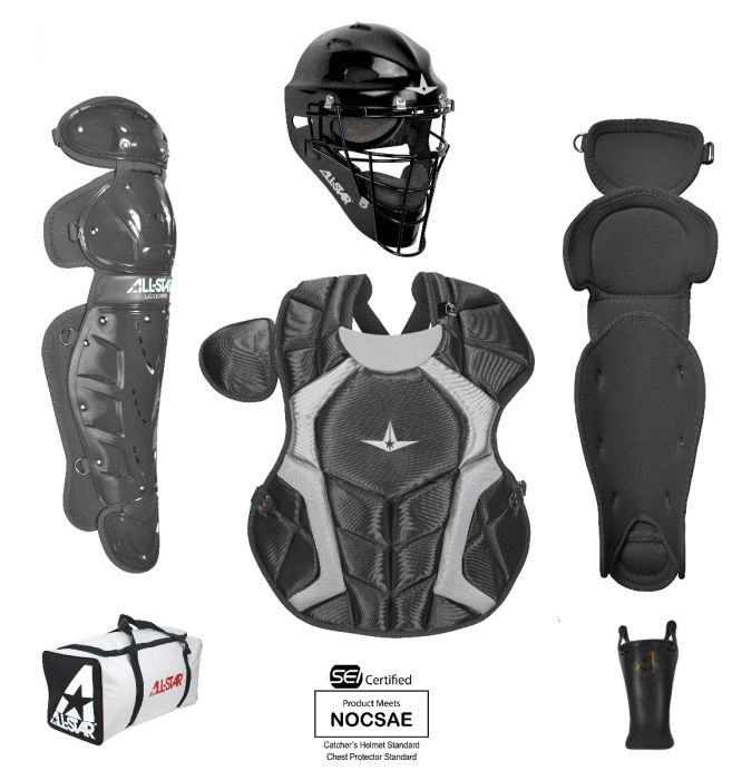 "All Star Player's Series Catcher's Gear Set ""9-12 years old"""